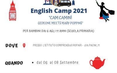 English Camp Seregno 2021